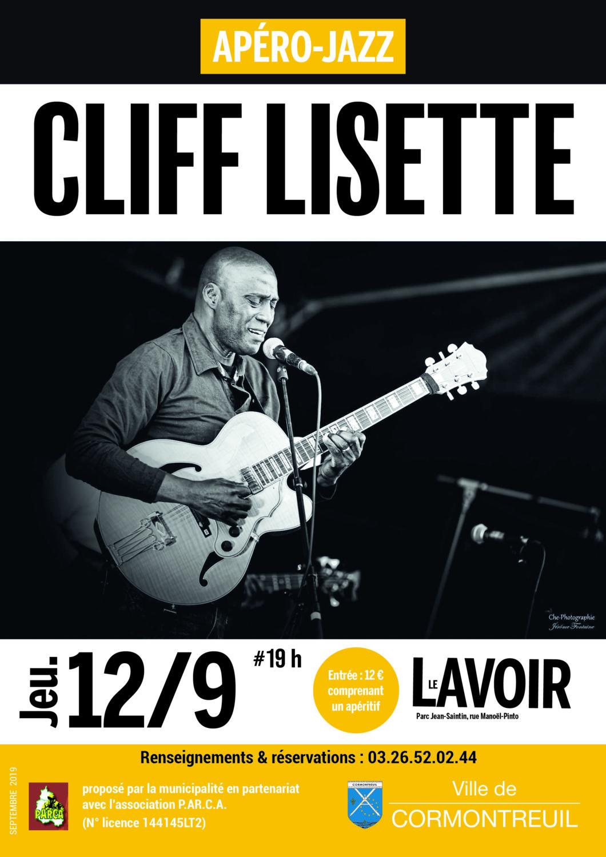 Cormontreuil apéro jazz Cliff Lisette 12 septembre 2019 19h Le Lavoir
