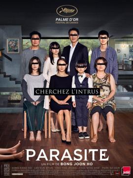 Cormontreuil affiche cinéma Parasite palme d'or Festival Cannes 2019