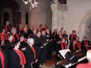 Concert Noël Cormontreuil décembre 2019 chorale 4 voix église Saint-André