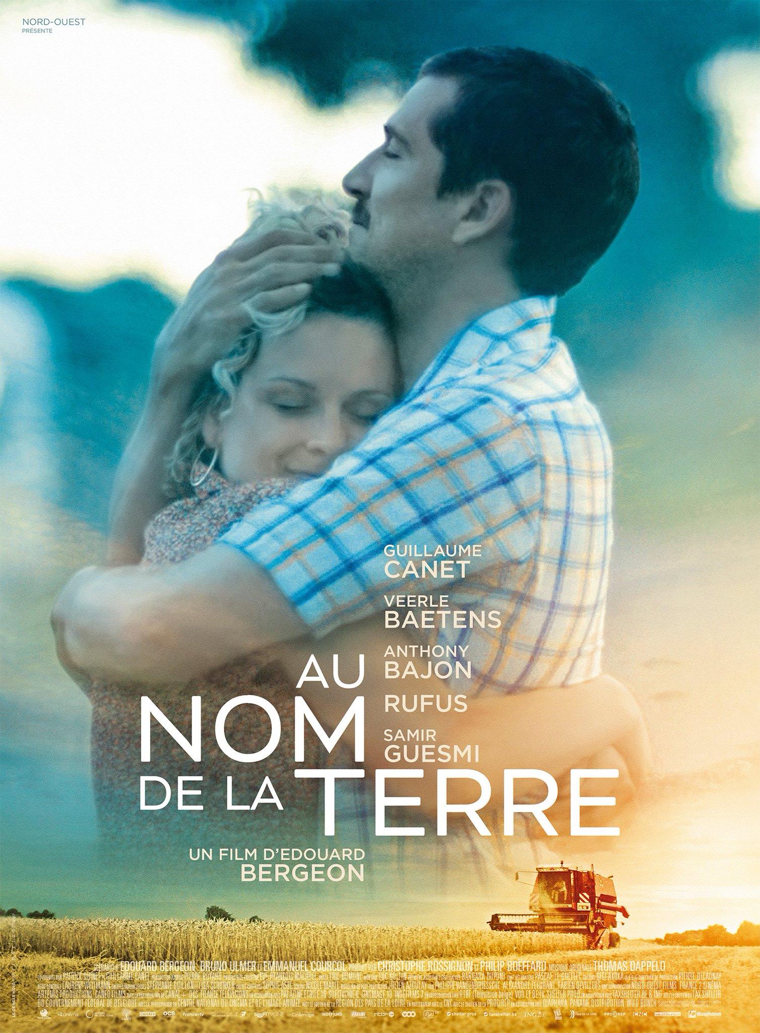 affiche film Au Nom de la Terre Guillaume Canet