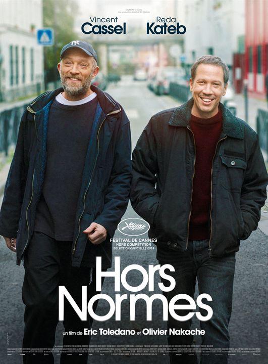 Affiche film Hors Normes Vincent Cassel Reda Kateb