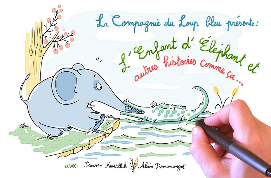 Spectacle «L'enfant d'éléphant et autres histoires comme ça» – Mer. 18/12 à 15h