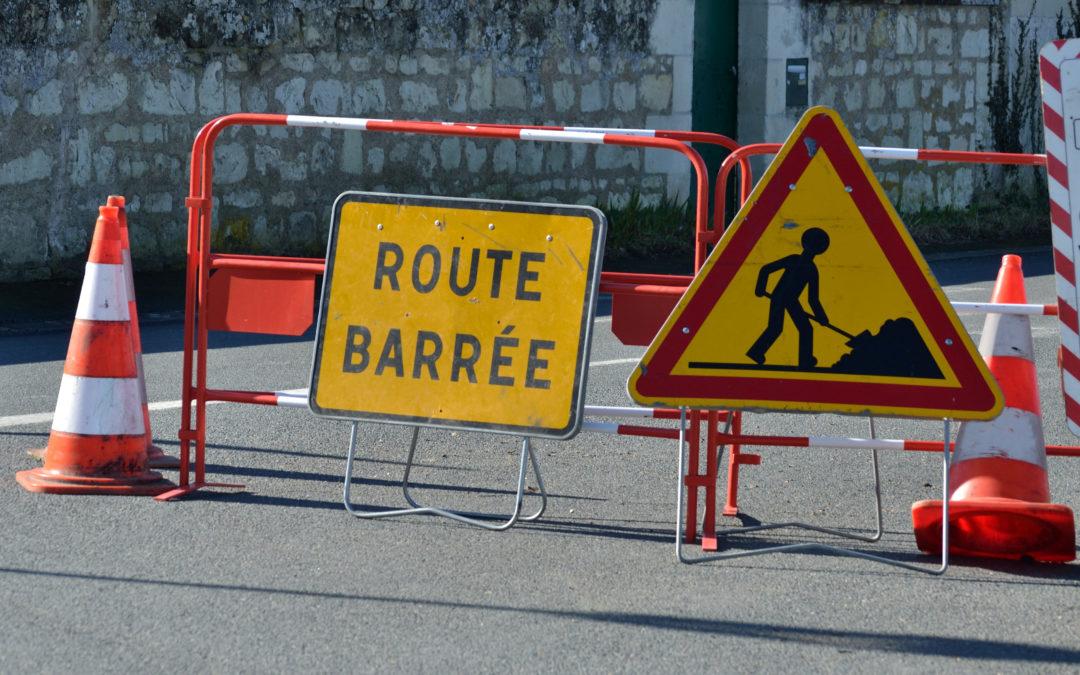 Travaux de sécurisation de la rue Aristide-Briand