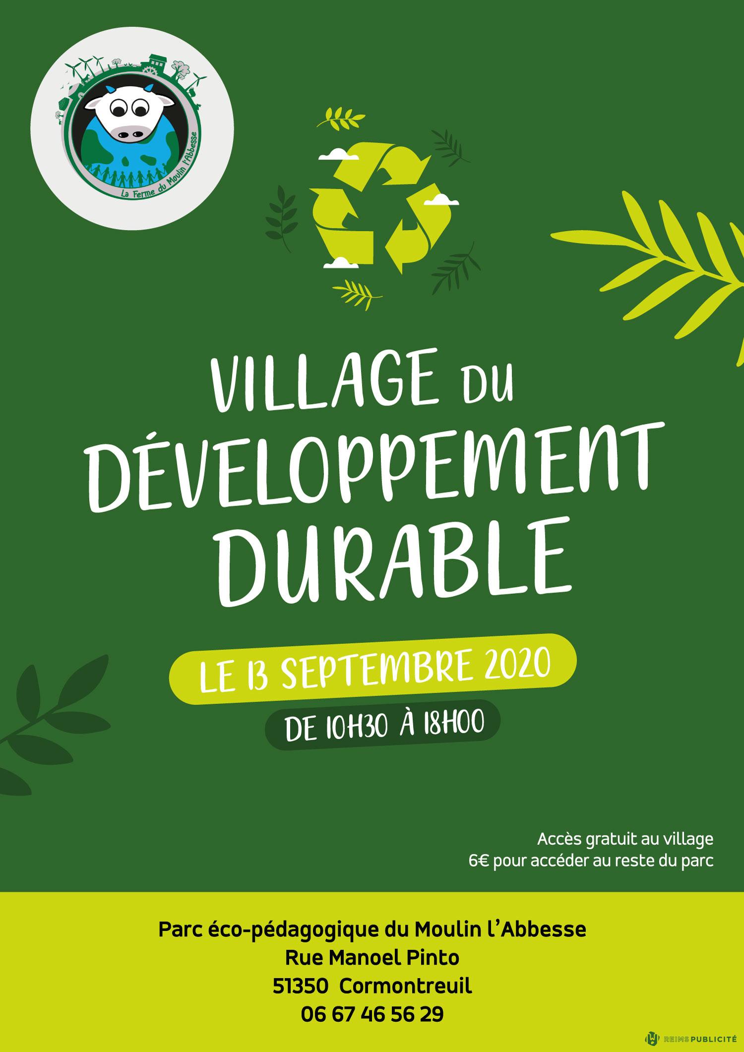 village du developpement durable