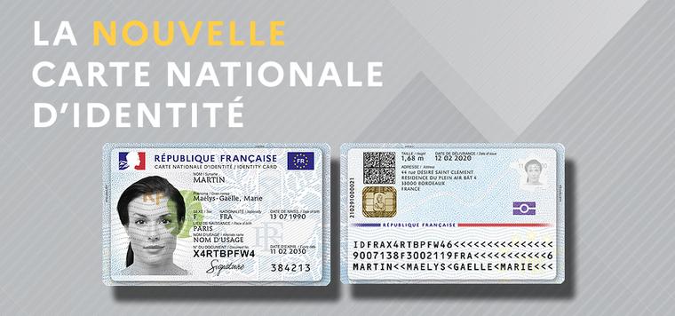 Lancement de la nouvelle Carte Nationale d'Identité.