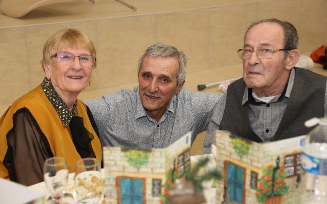 Repas offert aux Seniors de plus de 70 ans : Sam. 25 &  Dim. 26/09